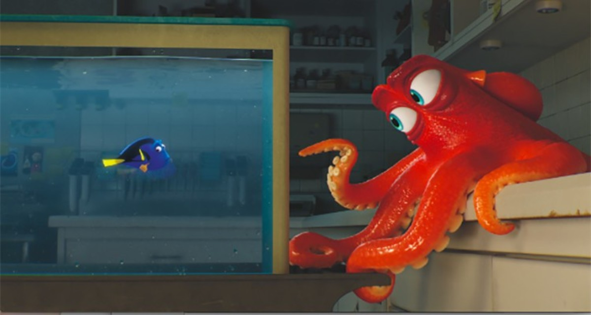 Have You Seen Him? Finding Dory's Hank