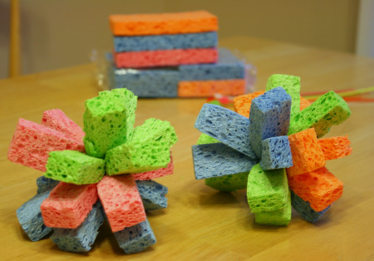 Wet-Water-Sponges