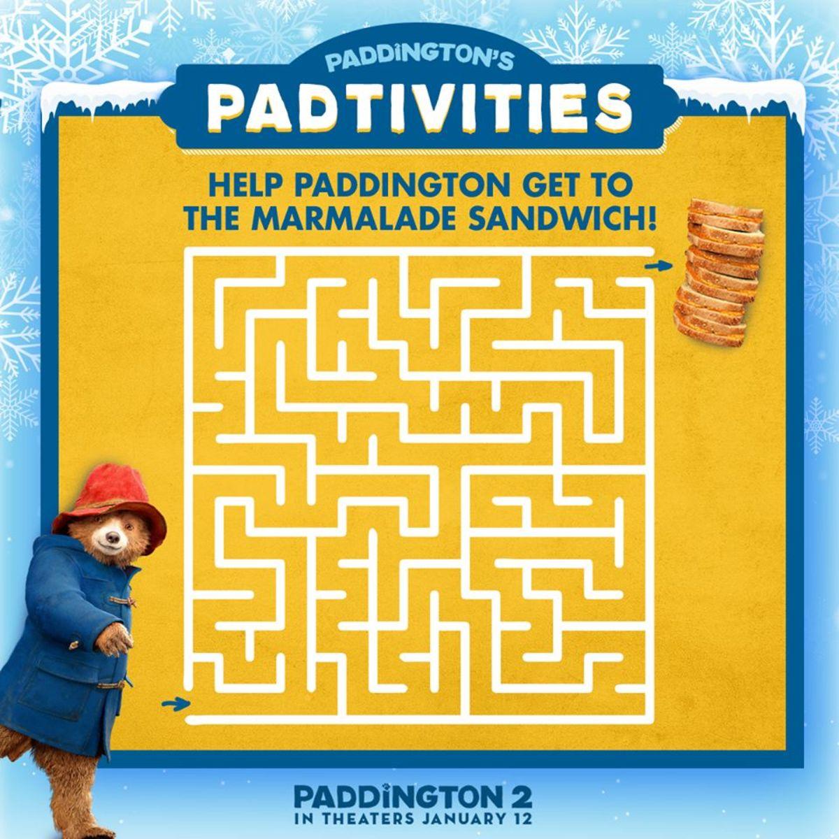 Paddington2-Activities