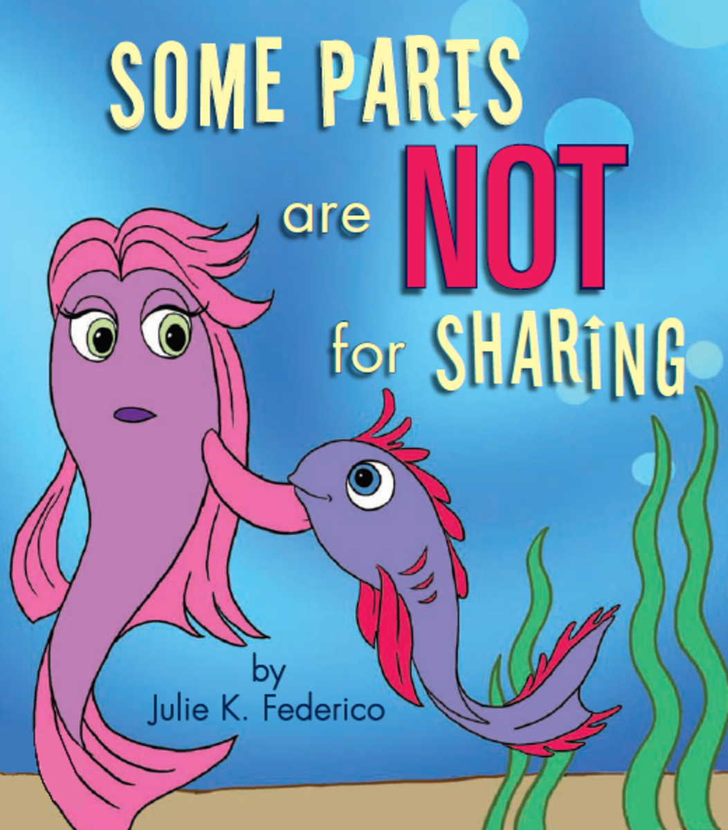 Books for Coping with Stranger Danger: Some Parts Are Not for Sharing