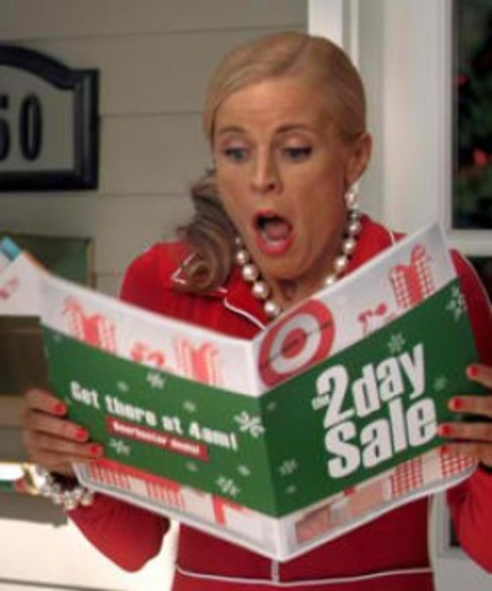 One of our favorite comedians, Maria Bamford for Target's Black Friday