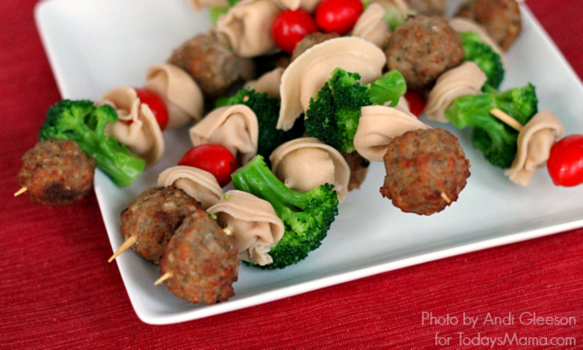 Spaghetti and Meatballs Skewers: A fun, kid-friendly dinner idea!