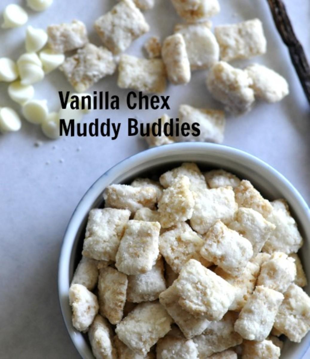 Vanilla Chex Muddy Buddies - Title