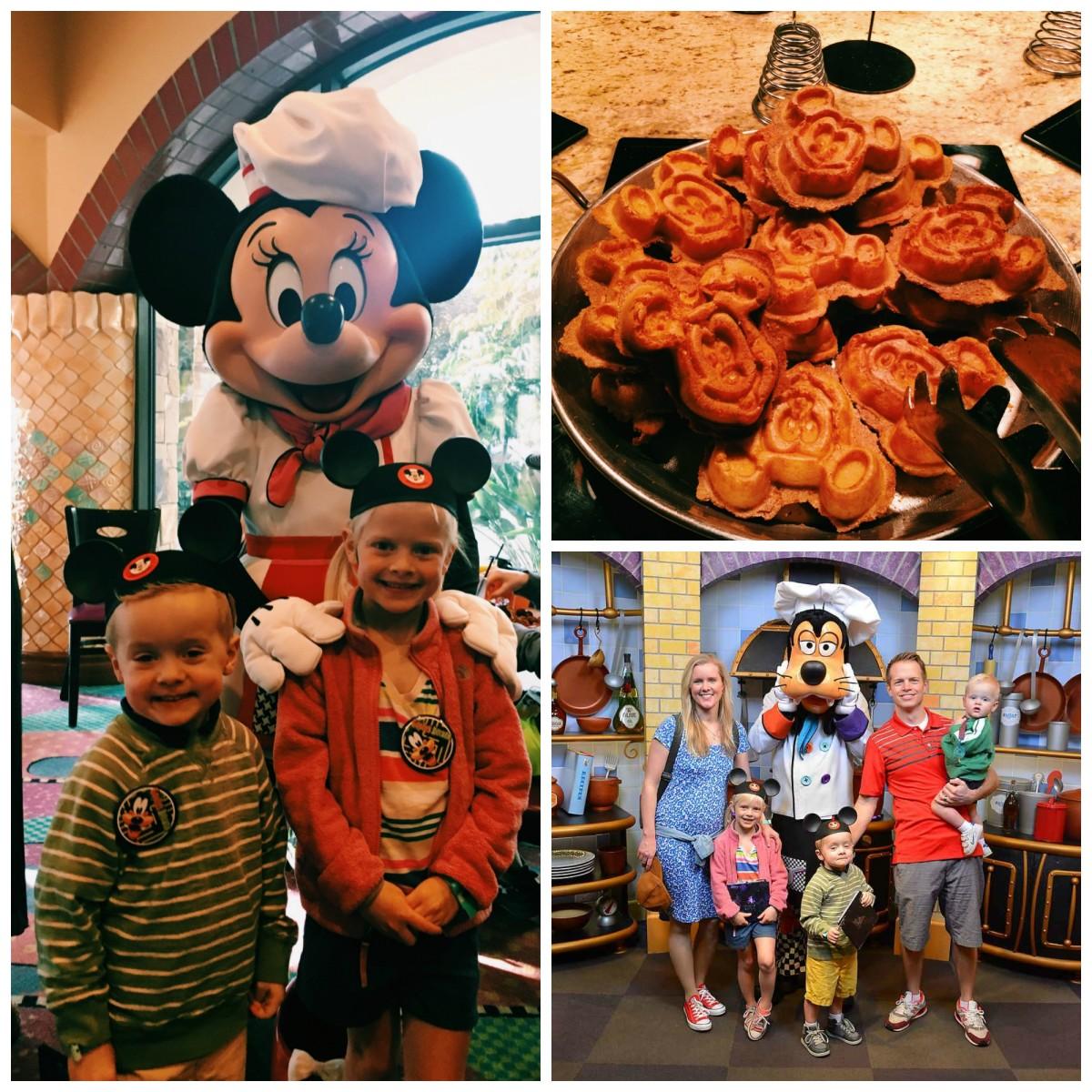 Disneyland Goofy Kitchen Collage