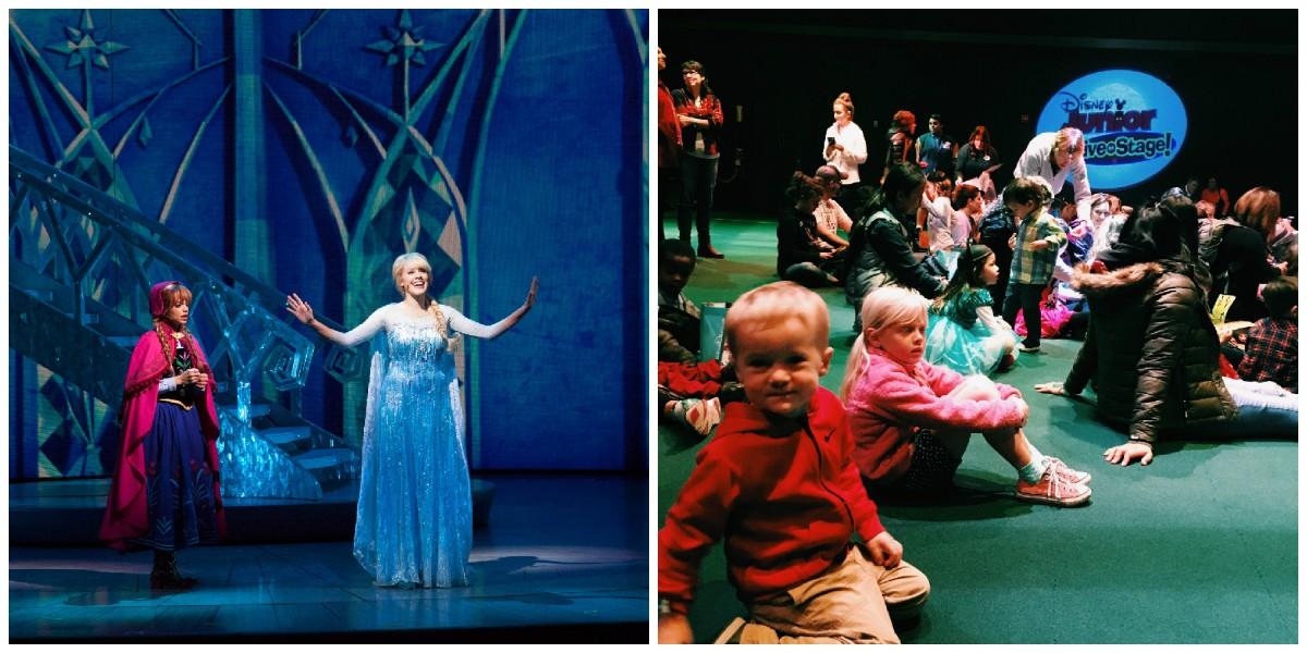 Disneyland show collage