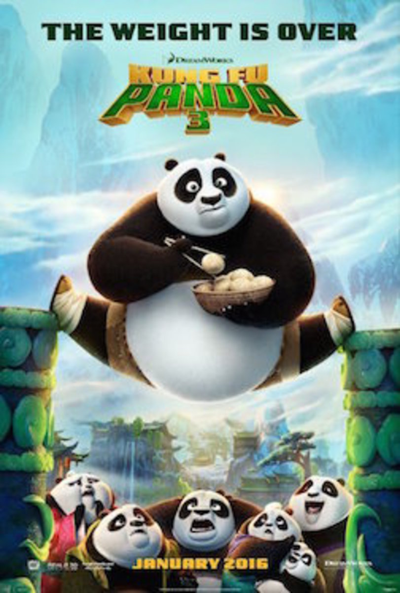 Kung Fu Panda 3 Movie Trailer