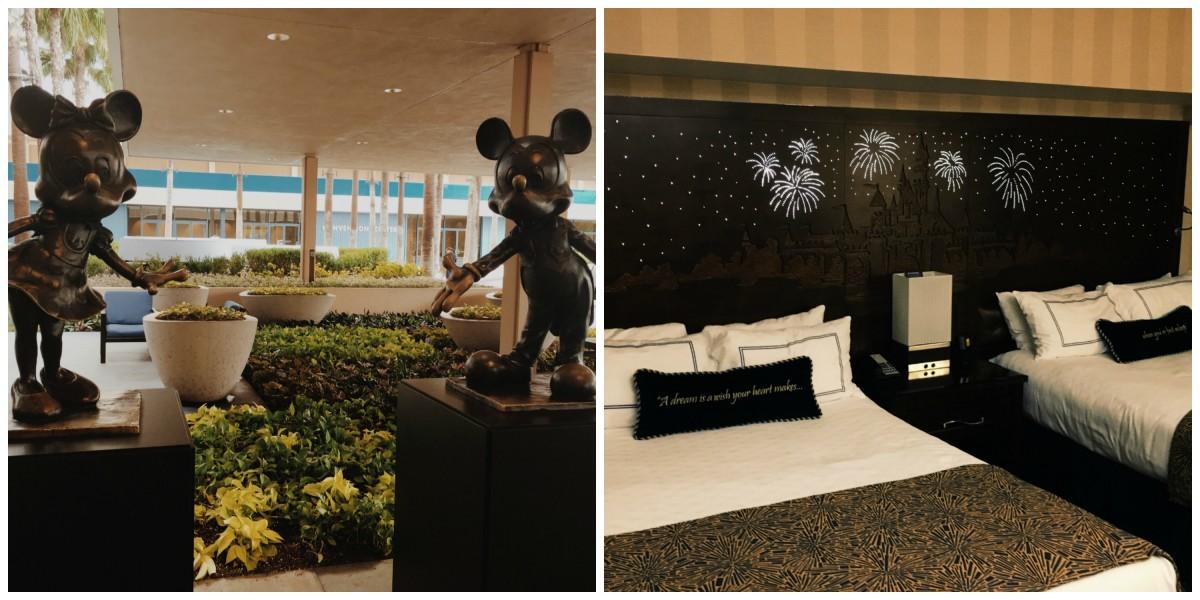 Disneyland hotel collage