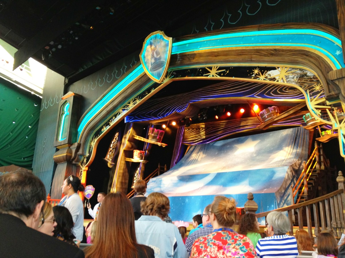 Mickey and the Magical Map Proscenium