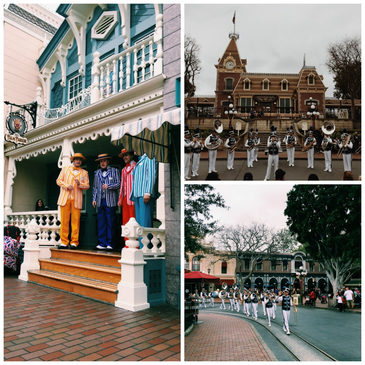 Disneyland with toddlers Band Collage