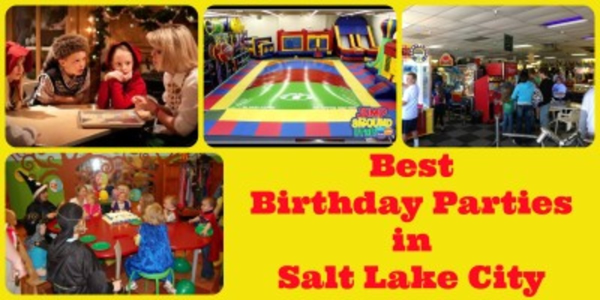 Birthday Party Venues Salt Lake City
