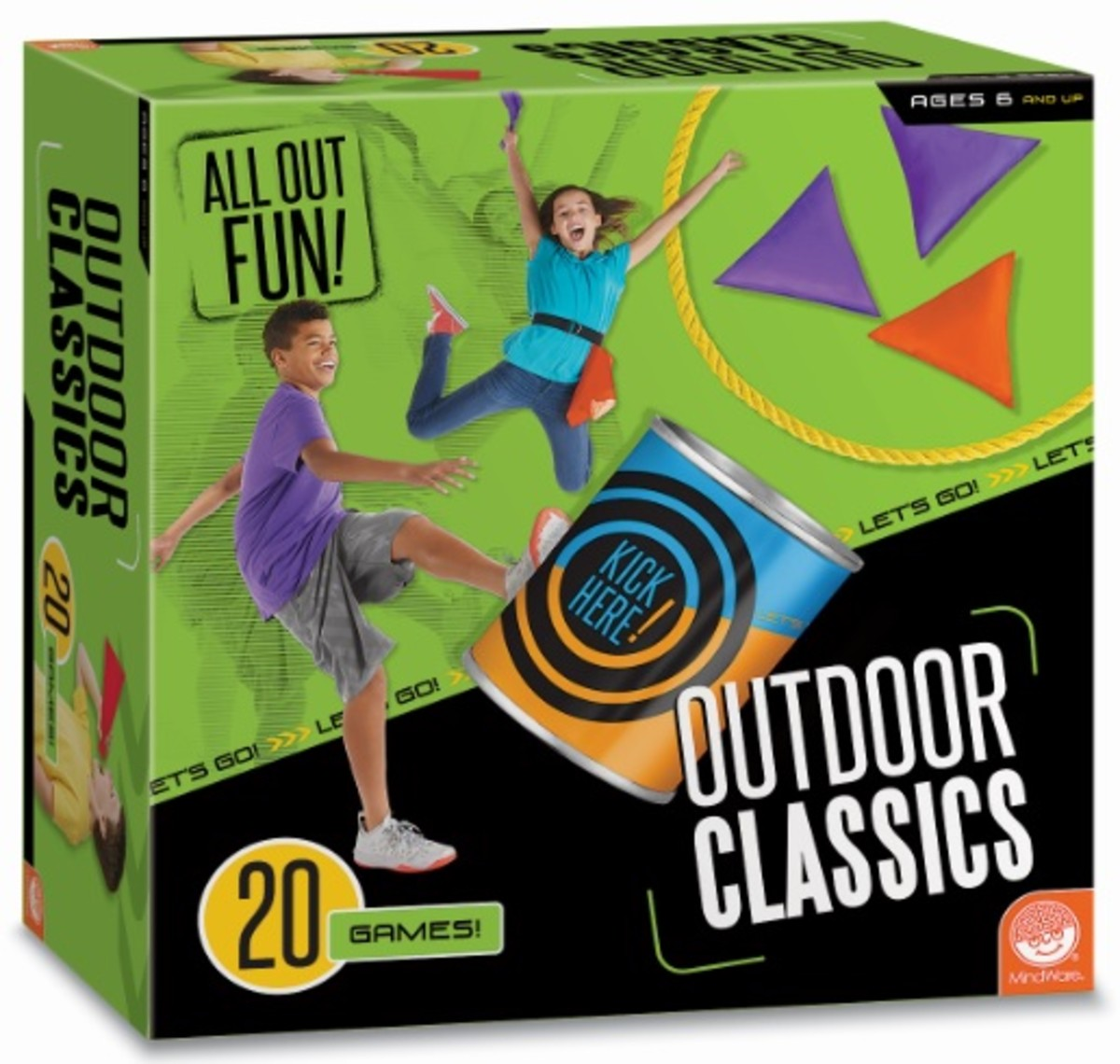 All Out Fun Outdoor Game Classics