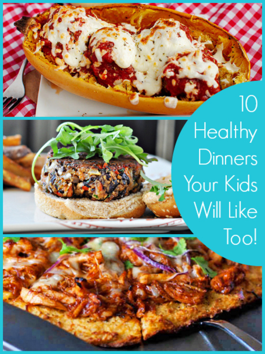 10 Healthy Dinners Your Kids Will Like Too
