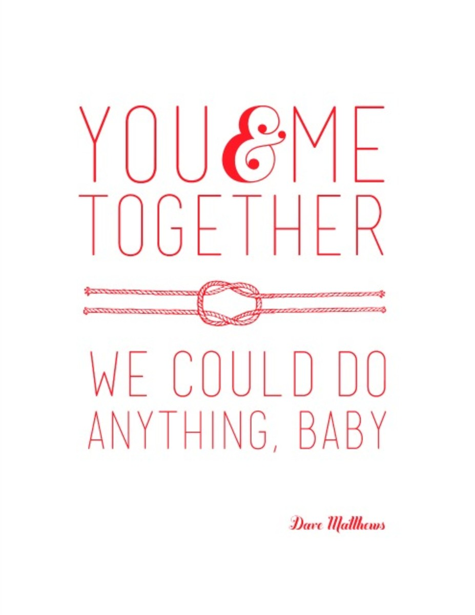 photograph about Lightsaber Valentine Printable referred to as Printable Dave Matthews Quotation for Your Valentine - Todays Mama