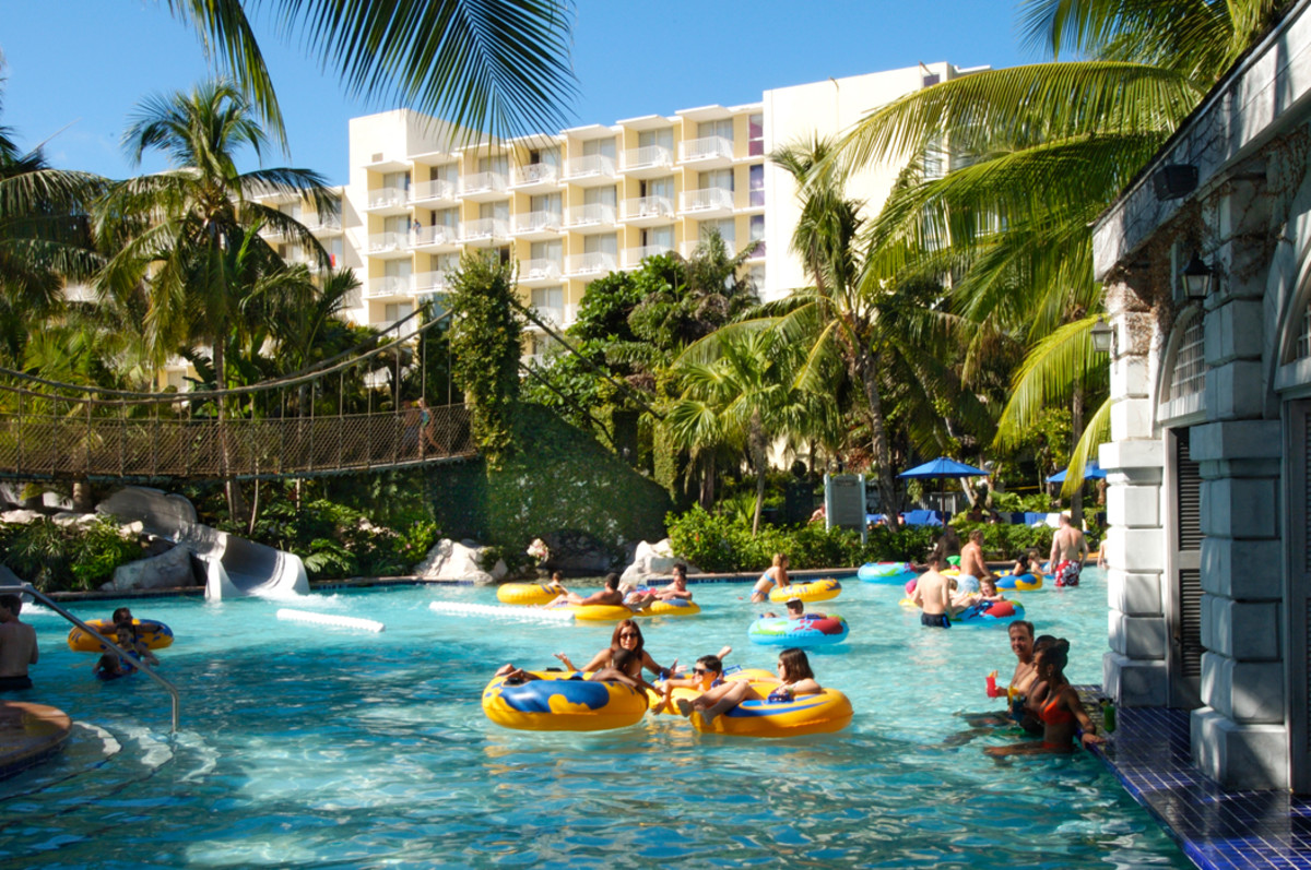Lazy River at Hyatt Ziva Rose Hall (Courtesy Hyatt)