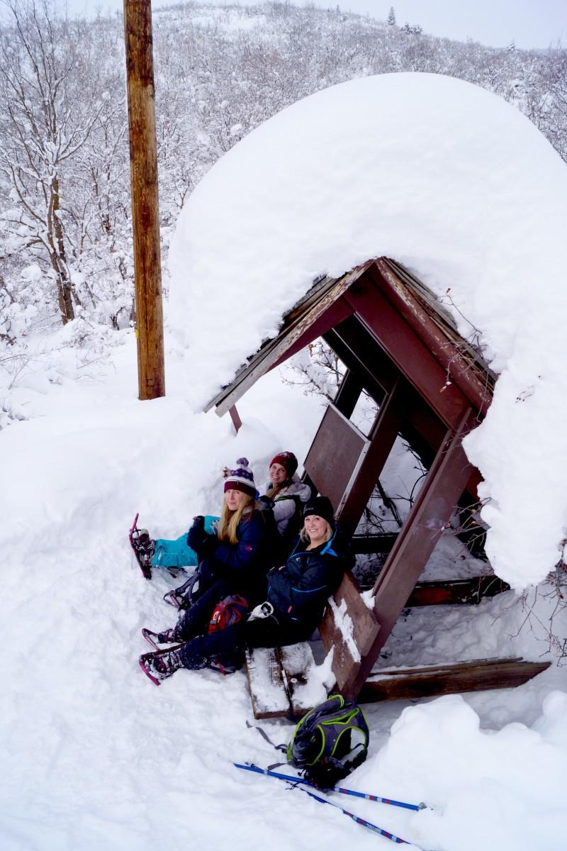 Snowshowing HV