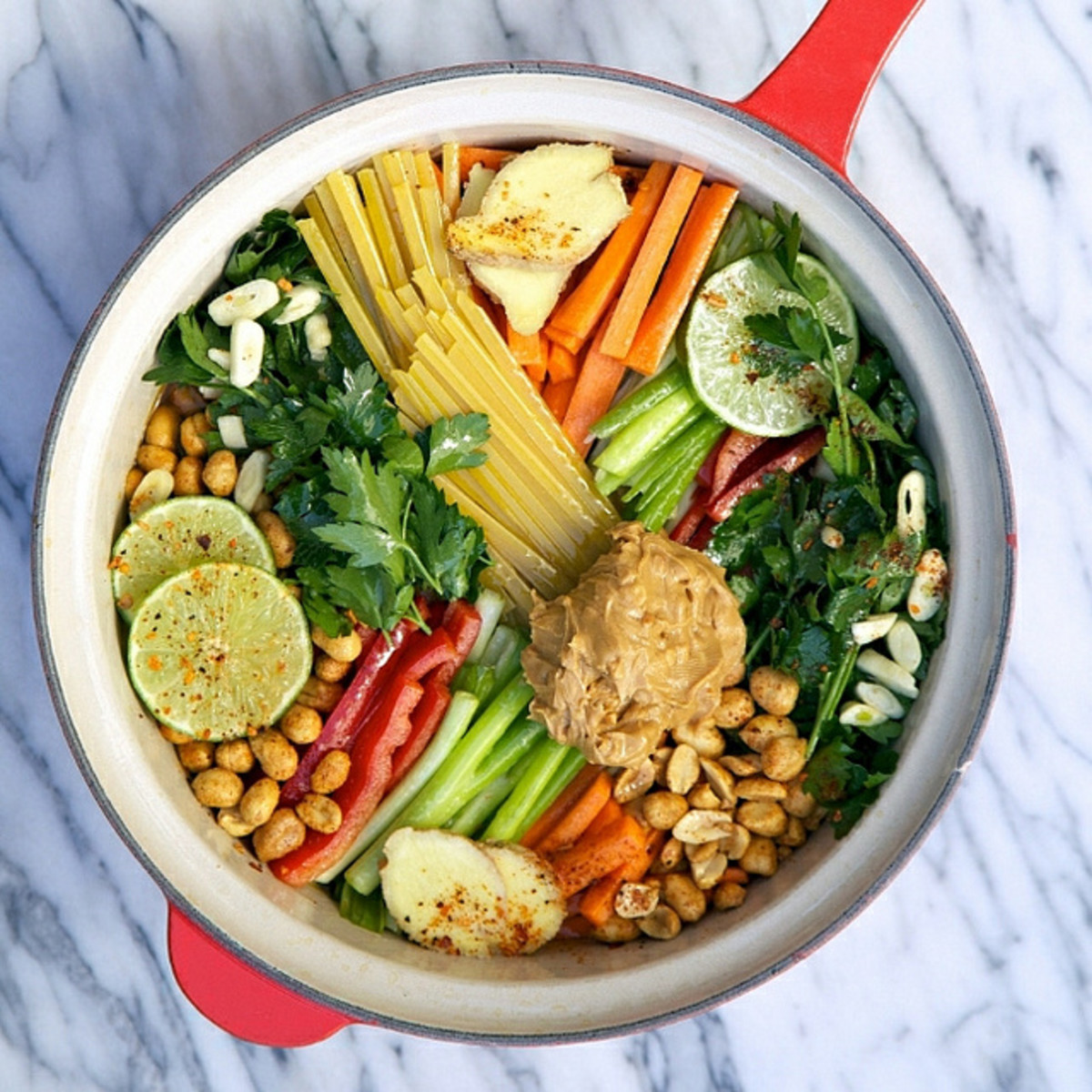 Peanut Thai One Pot Wonder