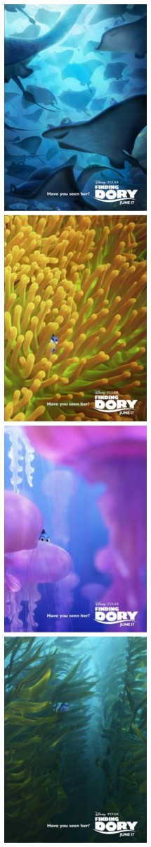 Finding Dori Movie Posters