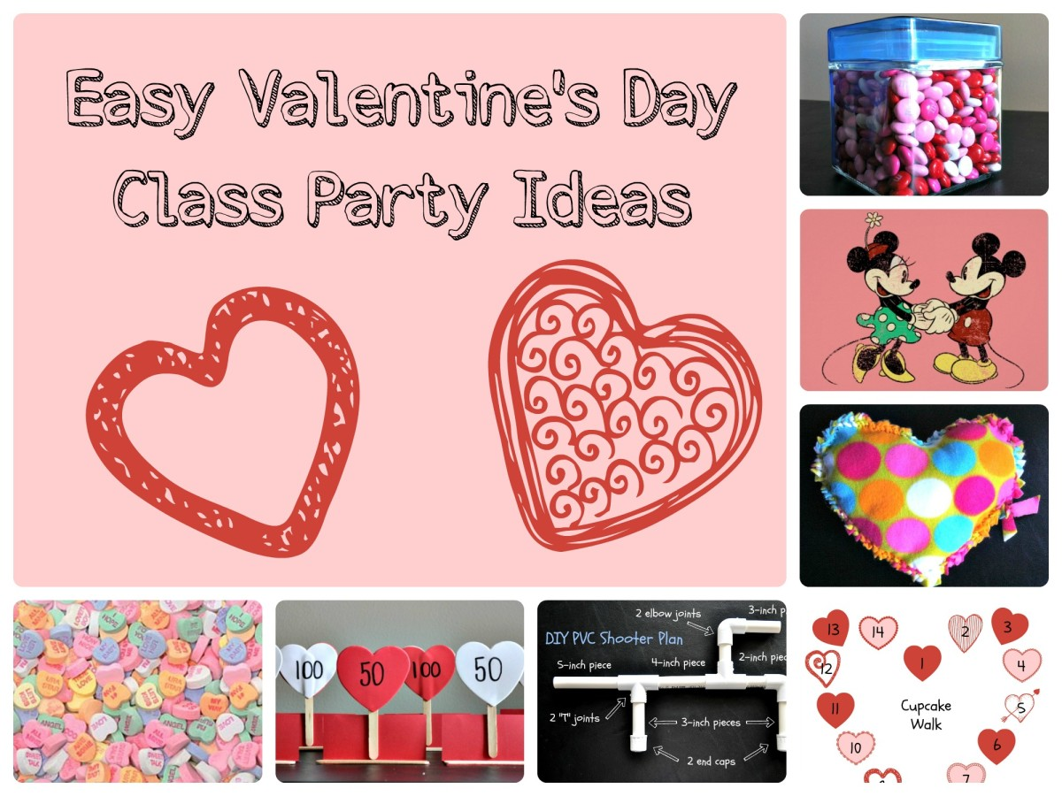 Easy Valentine's Day Class Party Ideas