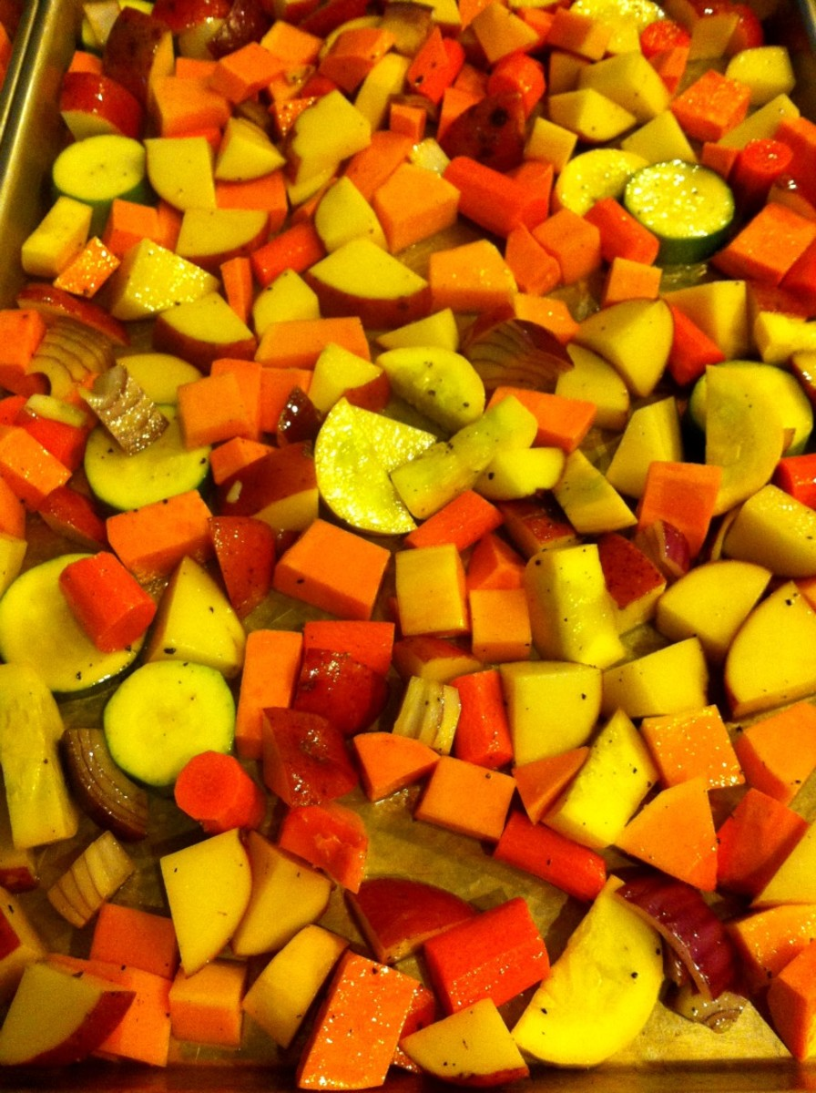 Veggies in the Pan