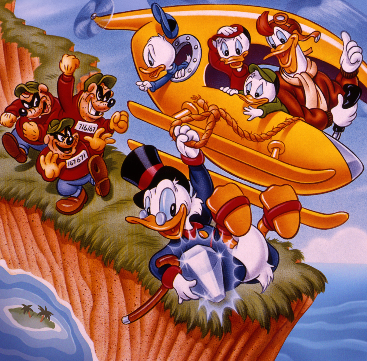 Disney Announces Ducktales Return n 2017