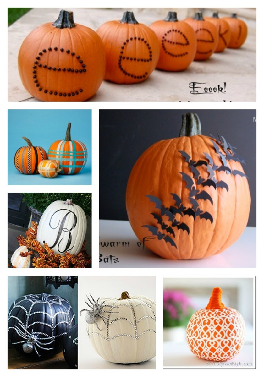 10 No Carve Pumpkins