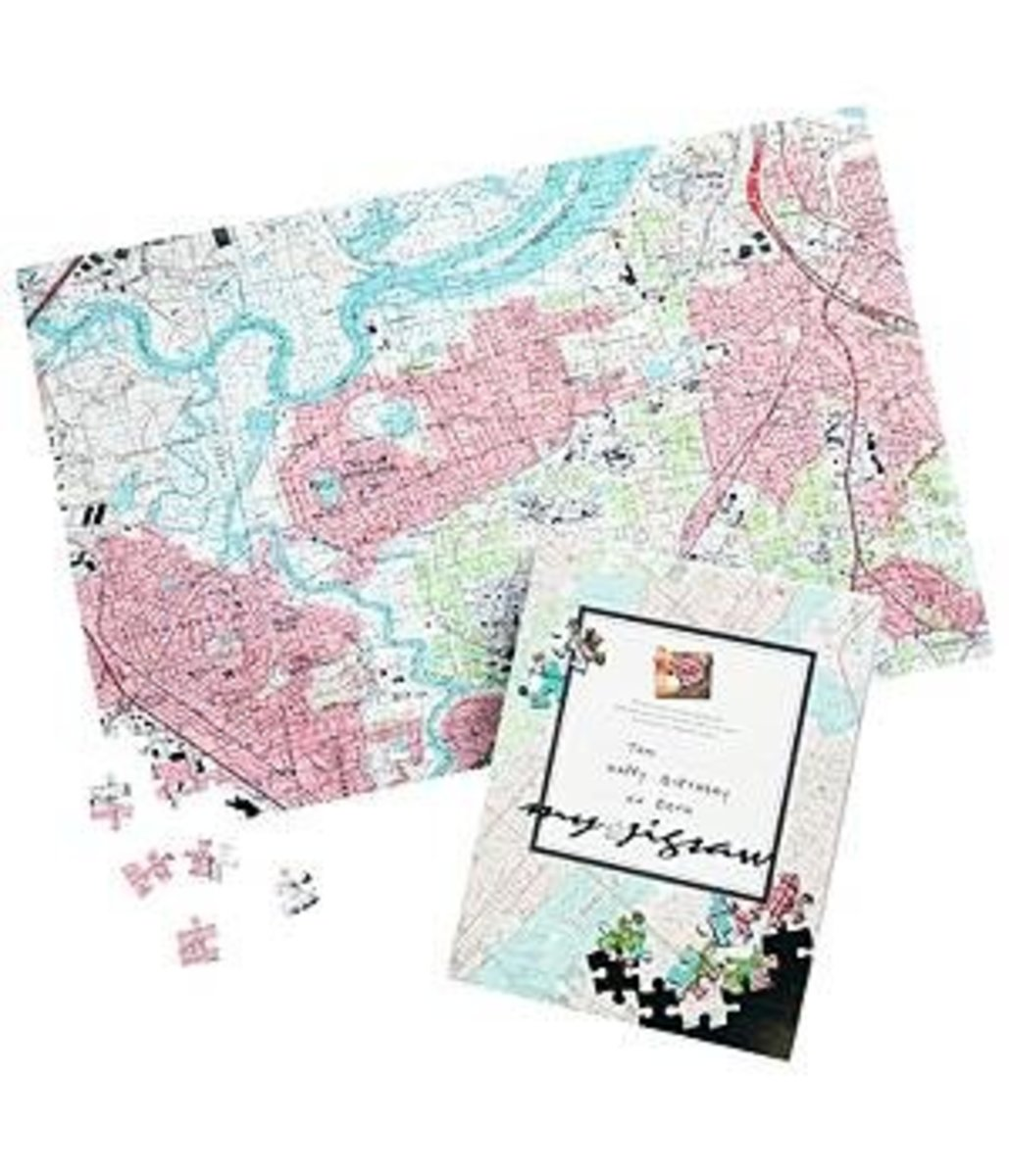 2013 Holiday Gift Guide - Hard to Shop for People - Your Home Address Puzzel - TodaysMama.com
