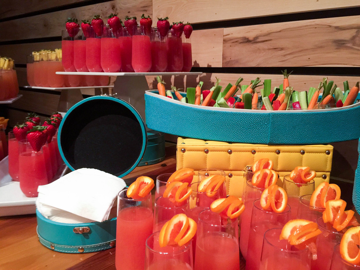 These mocktails at Great Wolf Lodge SoCal are delicious and kid-friendly. (Photo: Michelle Rae Uy)