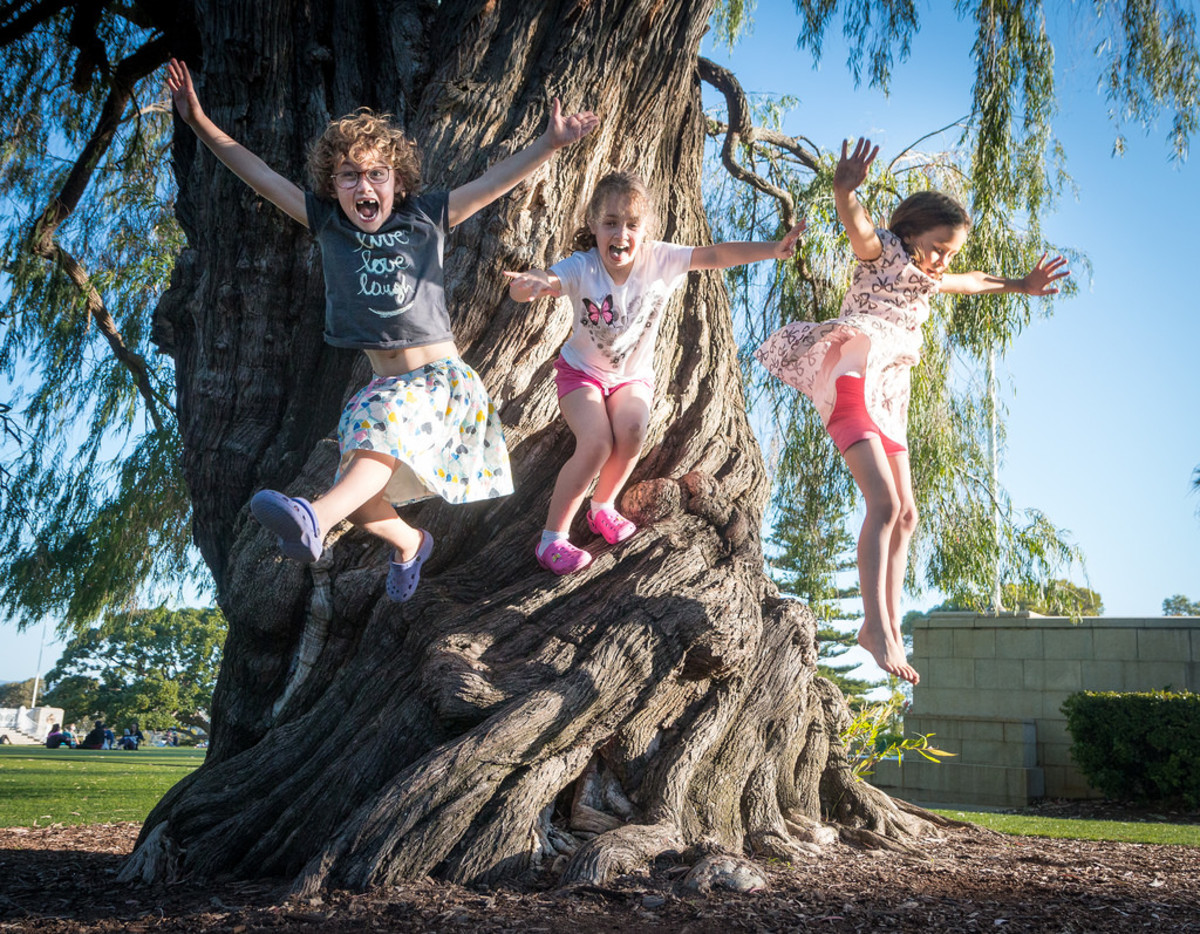 Kids make everything fun. (Flickr: Barney Moss)