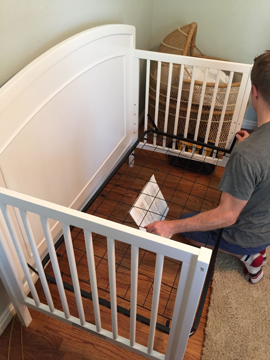 Davinci Carters review- crib build 2