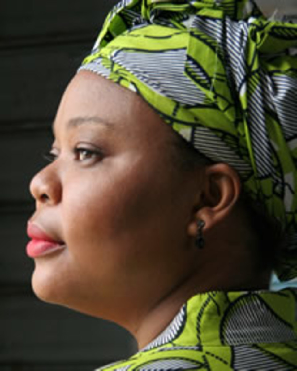 Leymah Gbowee by Michael Angelo for Wonderland