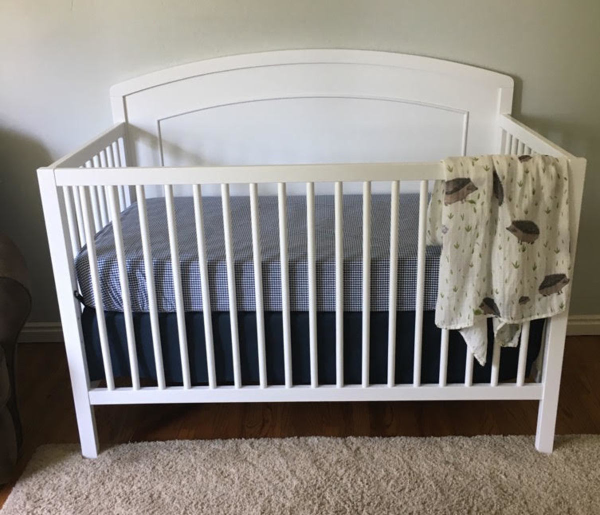 Davinci Carters review- crib front