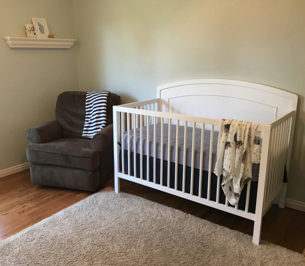 Davinci Carters review- crib angle