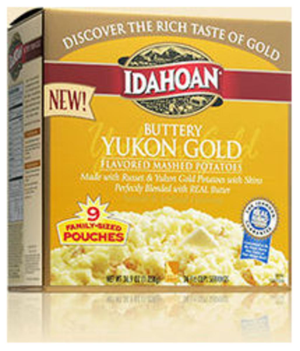 Easy Side Dishes - Yukon Gold Idahoan Potatoes