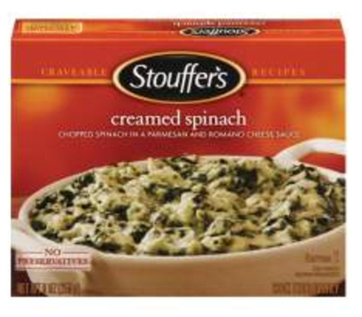 Easy Side Dishes - Stouffers Creamed Spinach
