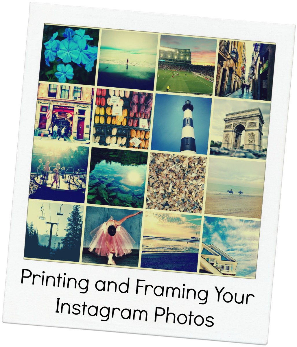 Printing and Framing Your Instagram Photos