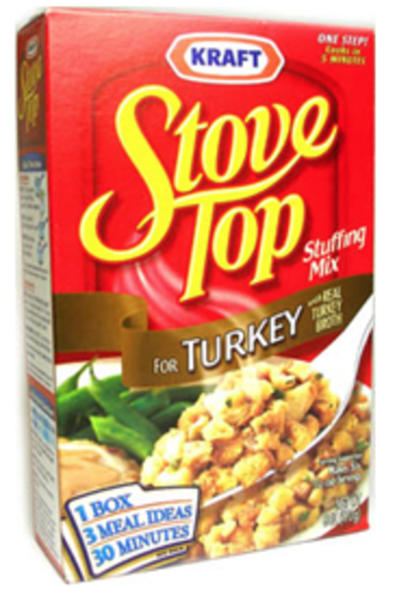Easy Side Dishes - Stove Top Turkey Flavor