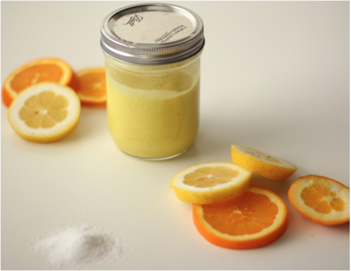 How to instructions for Citrus Body Scrub