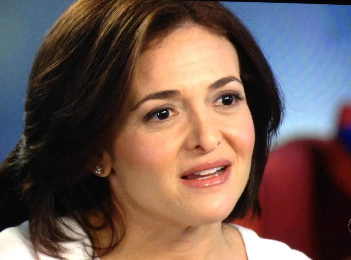 Sheryl Sandberg lean in women