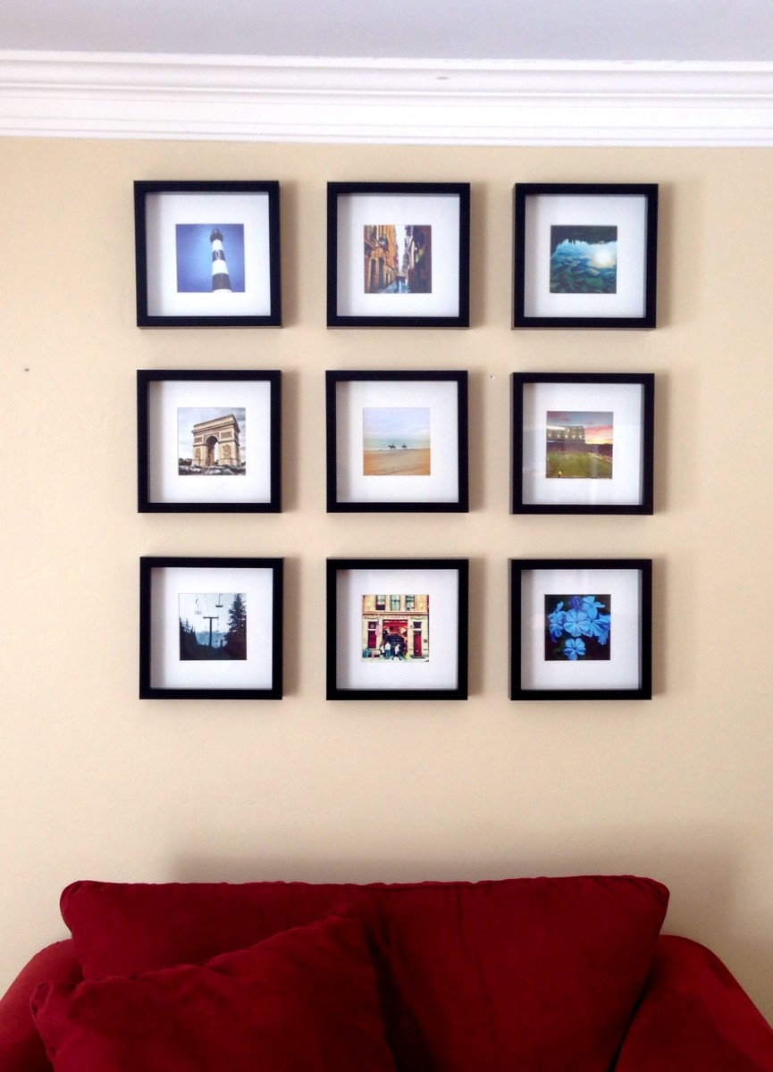 Instagram IKEA Frame Collage