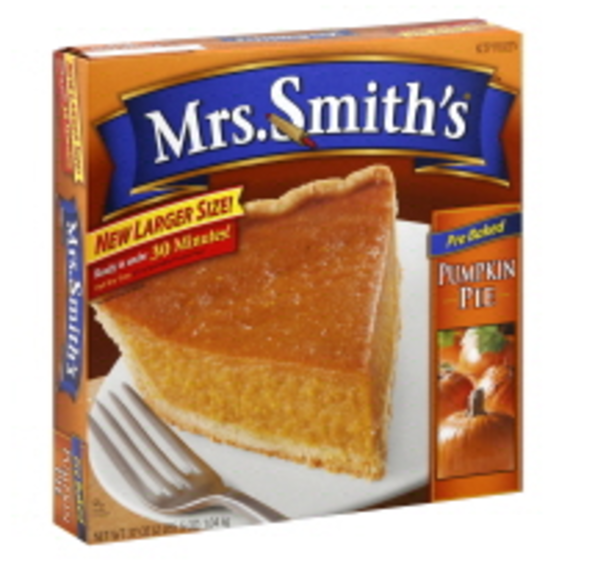 Easy Side Dishes - Mrs. Smith's Pumpkin Pie