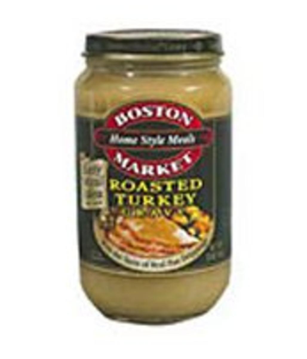Easy Side Dishes - Boston Market Roasted Turkey Gravy