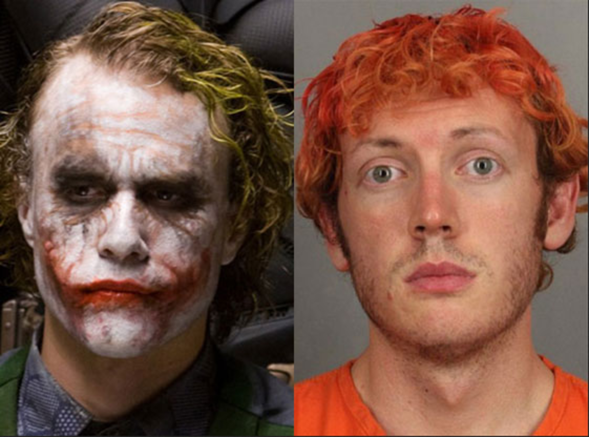 Colorado Theatre Shooting Joker Mugshot