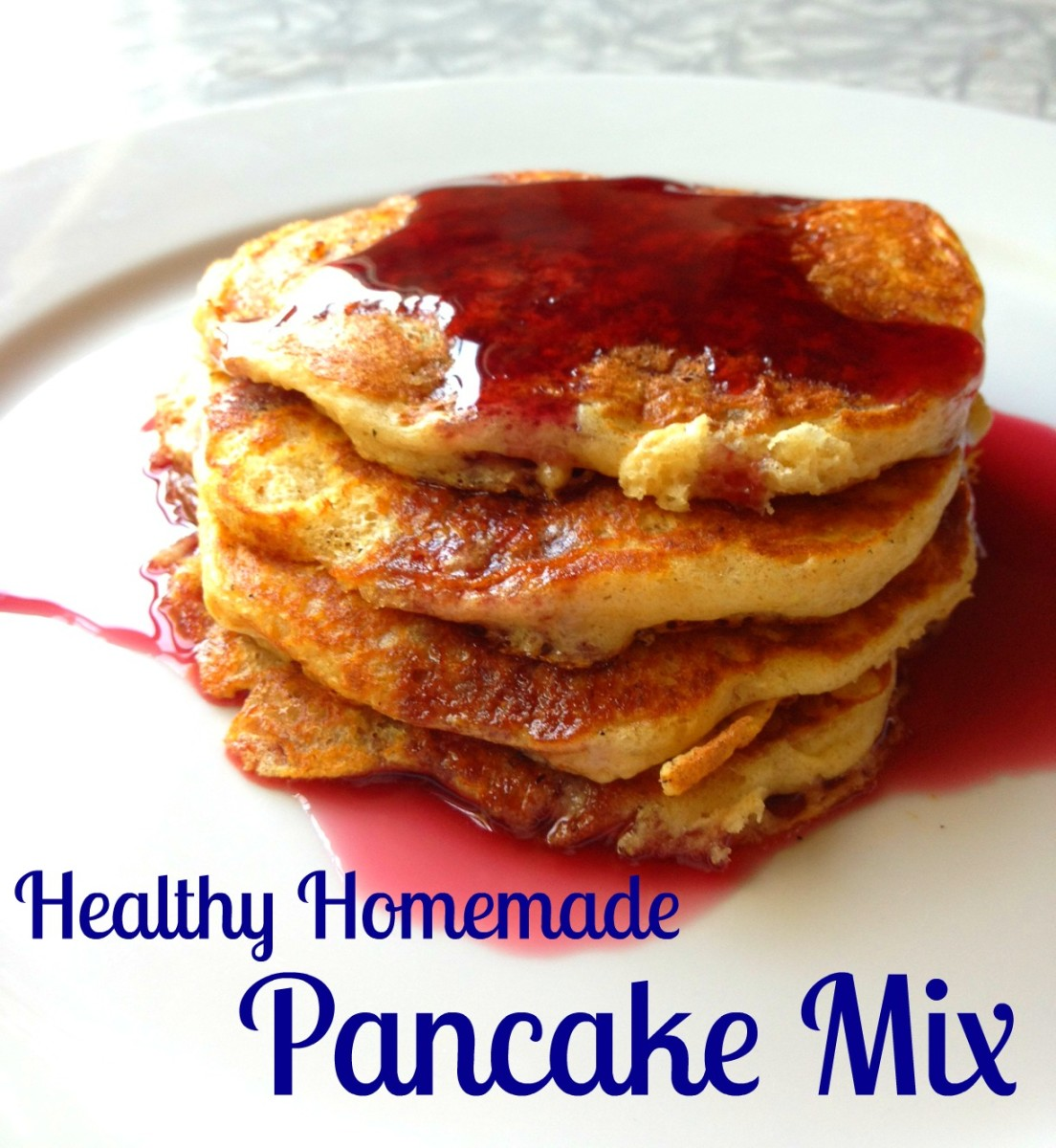 healthy homemade pancakes mix