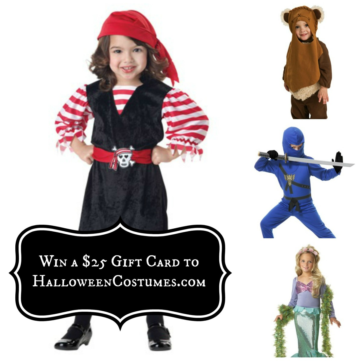 Halloween Costumes Giveaway