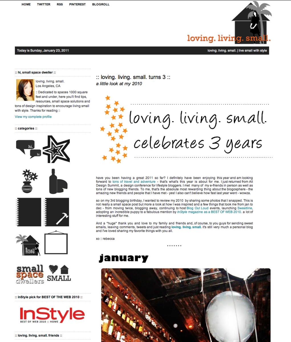 Loving Living Small