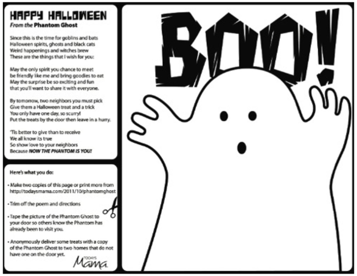 Halloween Boo Printable