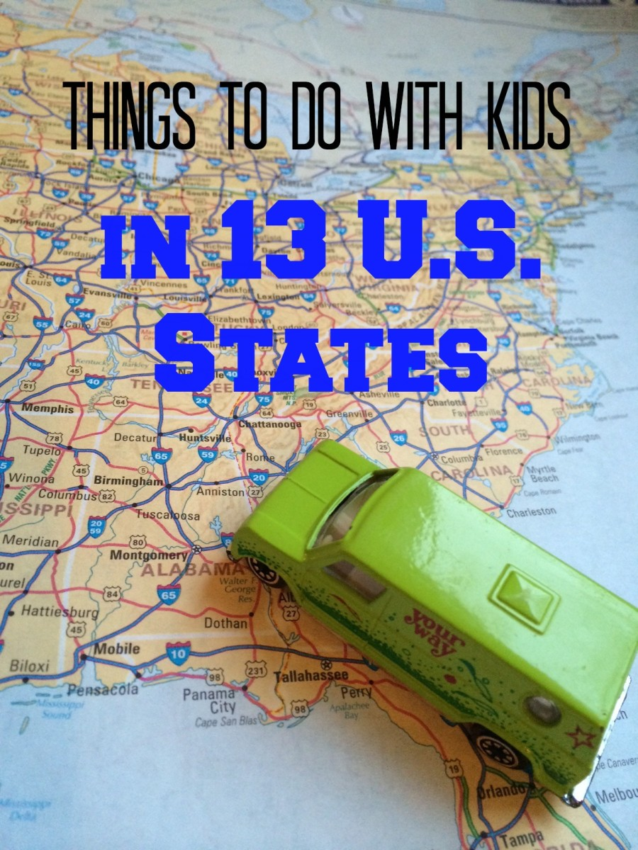Things To Do With Kids In 13 US States