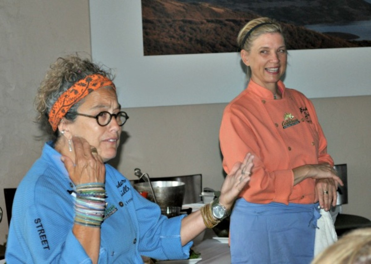 Mary Sue Milliken and Susan Feniger for the California Avocado Commission
