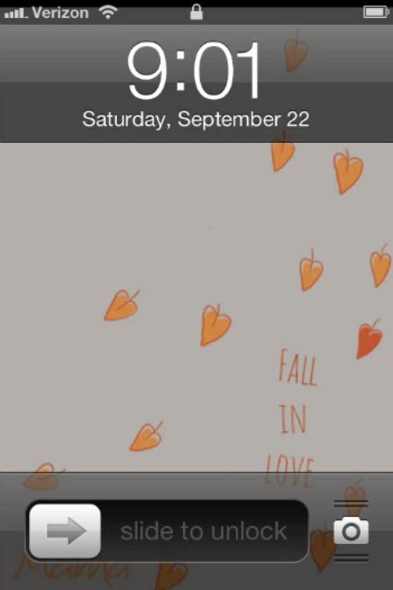 fall smartphone wallpaper