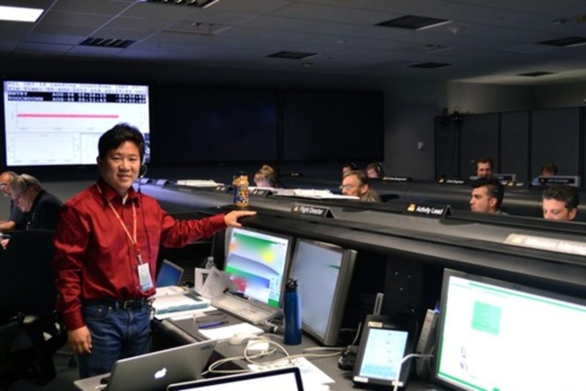 David at JPL